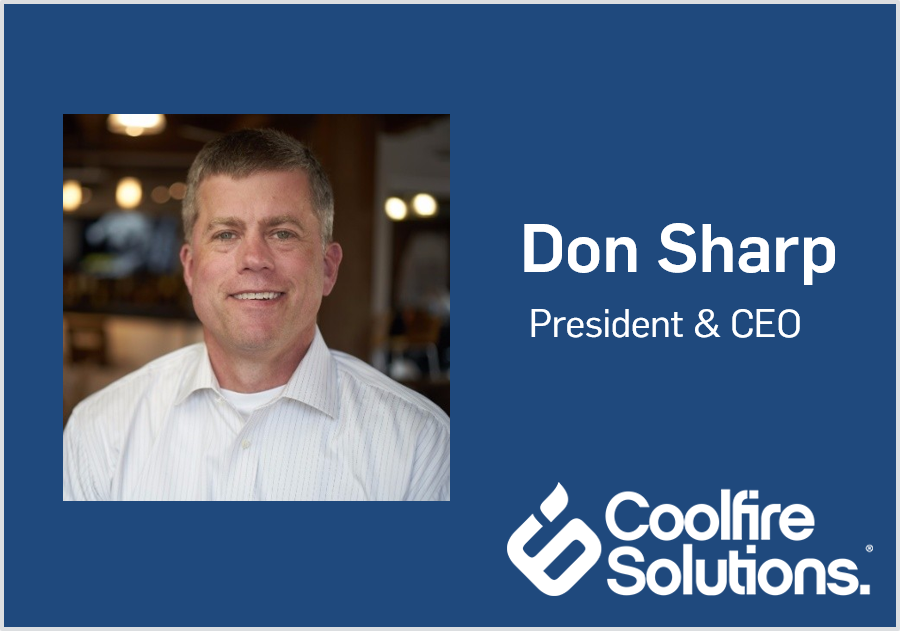 Coolfire Solutions President and CEO Don Sharp