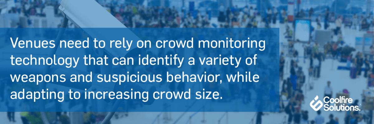 crowd monitoring technology