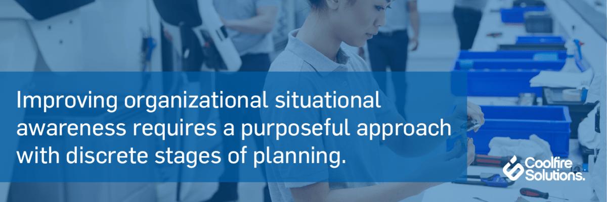 Improve Organization-Situational Awareness