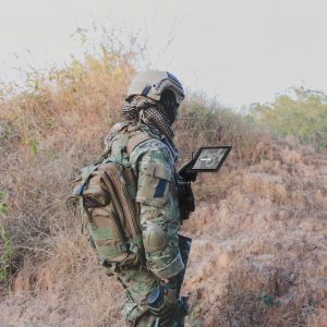 Soldiers test RONIN SA at AEWE 2019