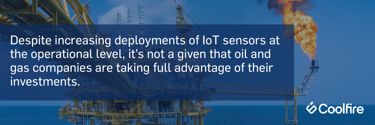 IoT sensors oil and gas