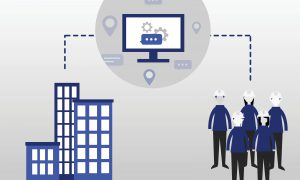 Data connecting field service workers and the office
