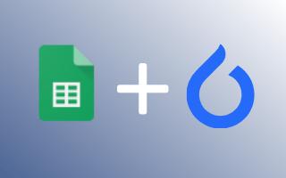 Google Sheets + Coolfire Core