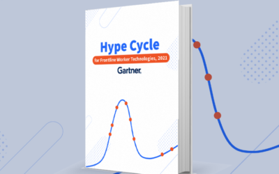Coolfire Recognized in the 2021 Gartner Hype Cycle for Frontline Worker Technologies Report